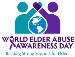 Logo for World Elder Abuse Awareness Day 2019